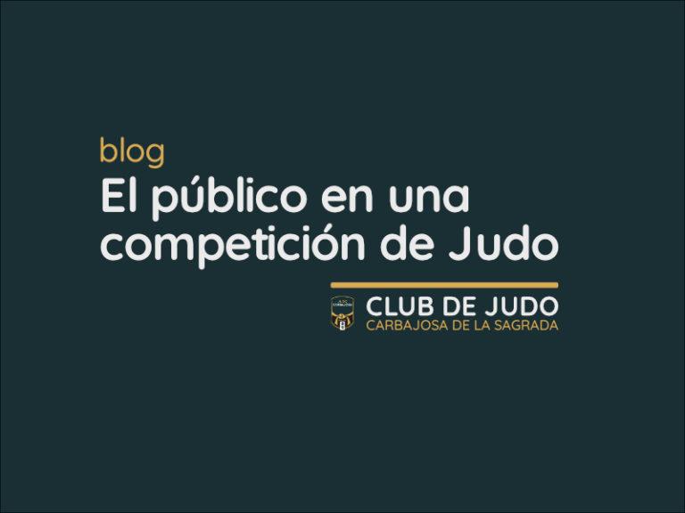 El público en una competición de Judo