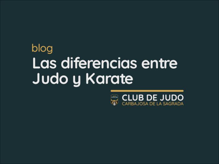 Diferencias entre Judo y Karate