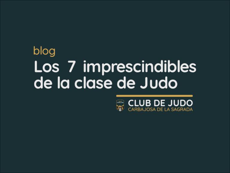 7 Imprescindibles en Judo