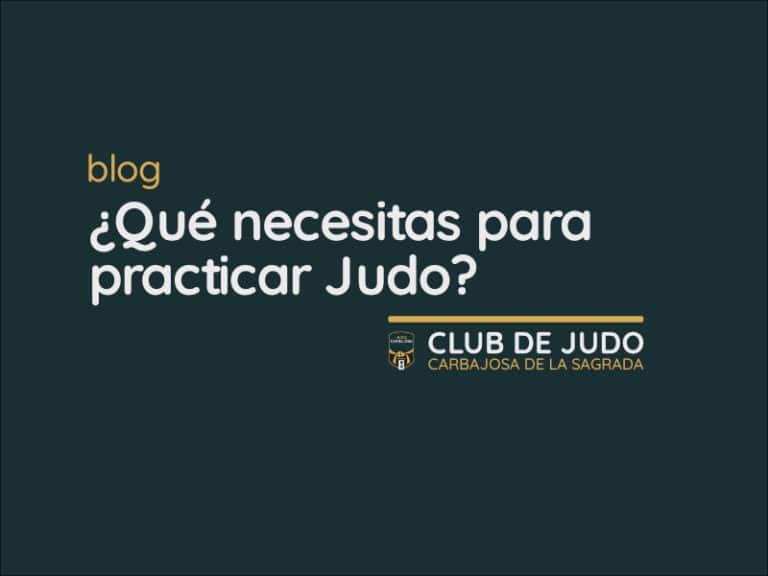 ¿Qué necesitas para comenzar a practicar Judo?