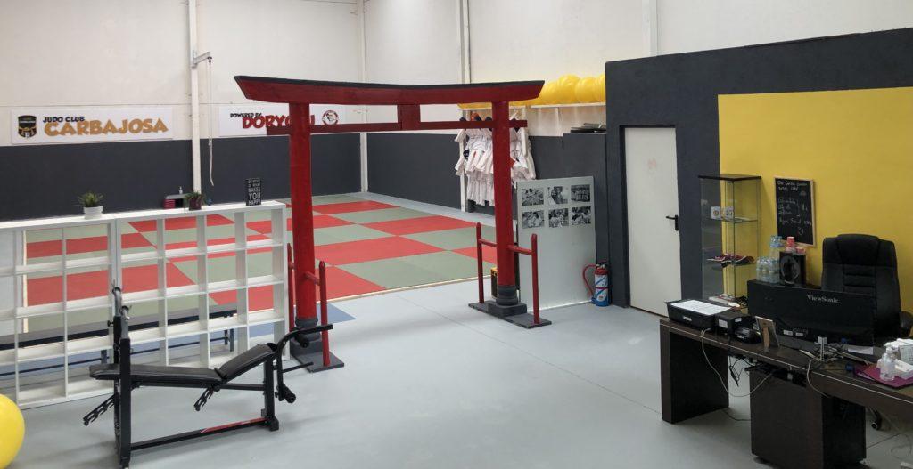 Las instalaciones de Judo Carbajosa son modernas, adaptadas y preparadas para aprender judo de la forma más segura