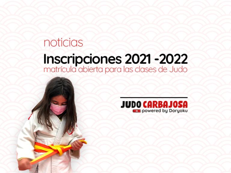 Apúntate a Judo 2021 - 2022